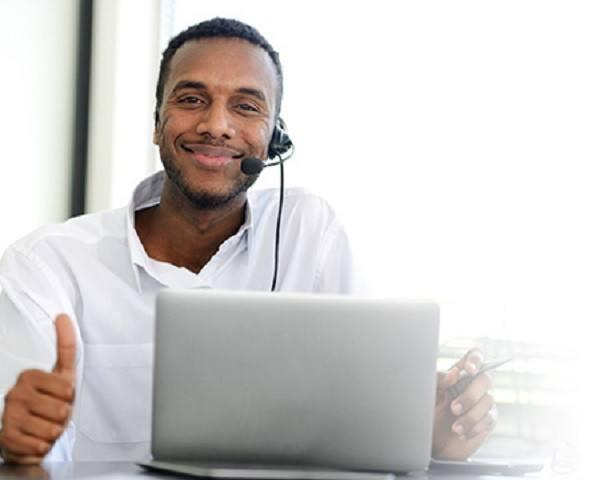 Apoyo telefónico y online