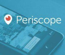 Cómo crear una cuenta en Periscope