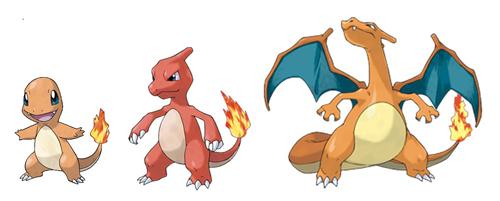 evolucion-de-charmander-tres-evoluciones