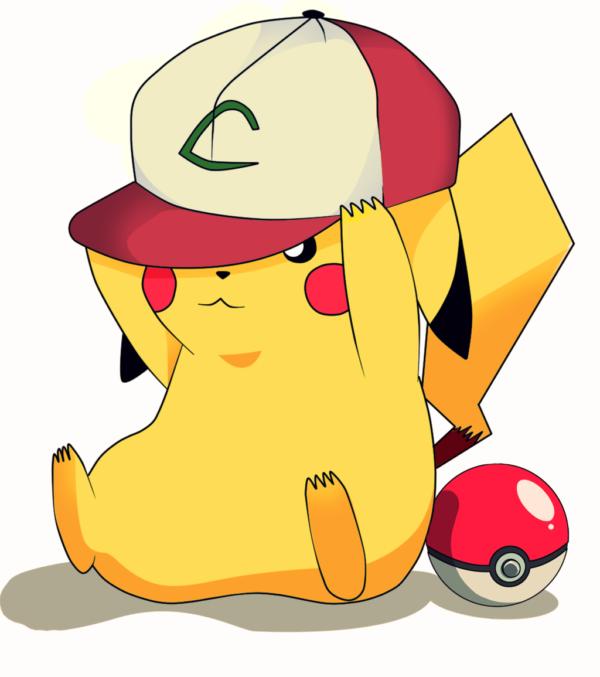 evolucion-de-pikachu-gorra-de-ash