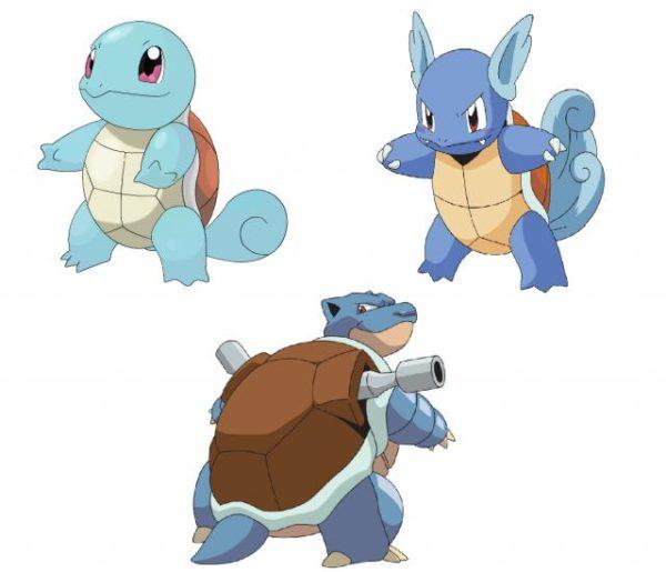 Evolución de Squirtle. Todos los trucos - Tecmoviles.com