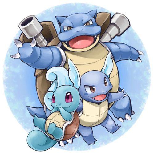 Evoluci n de squirtle todos los trucos - Tortank pokemon y ...
