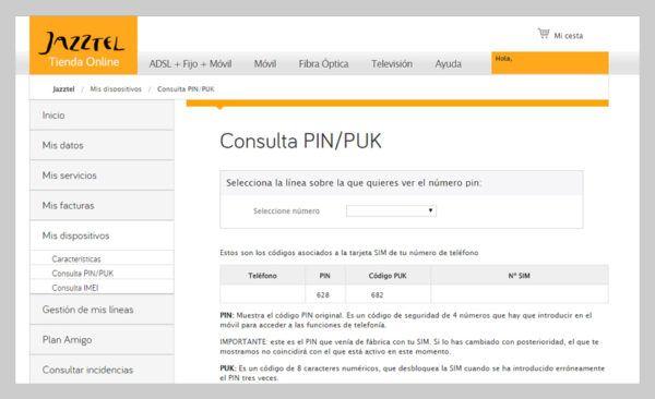 como-saber-mi-codigo-puk-jazztel-web