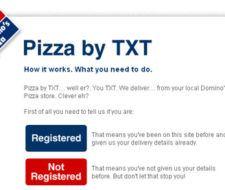 Pide Pizzas a través de SMS