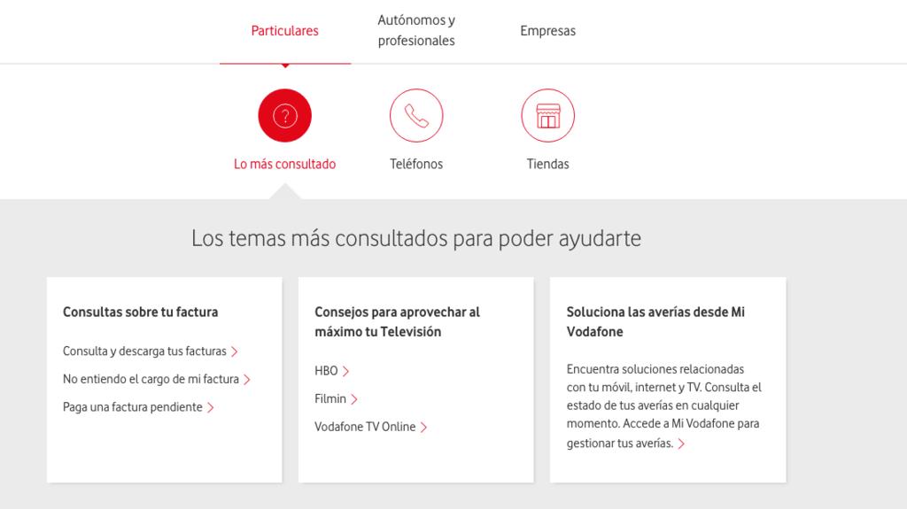 398568f53b1 El Número de telefono gratuito Vodafone | Atención al cliente ...