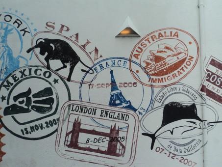 Sellos pasaporte