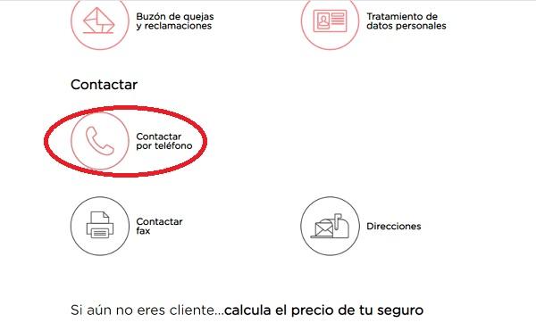 Contacto Línea Directa