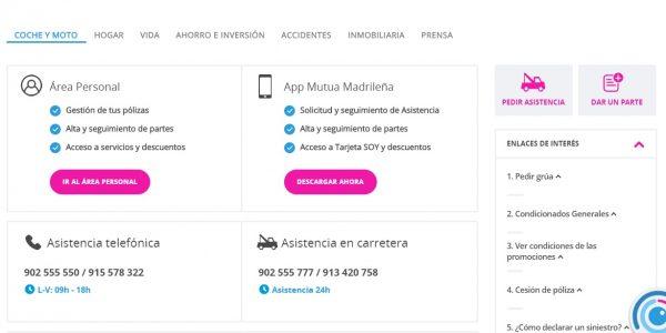 Teléfonos Mutua Madrileña