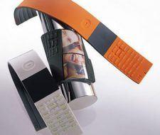 Tag de NEC, el telefono que es un cinturón flexible